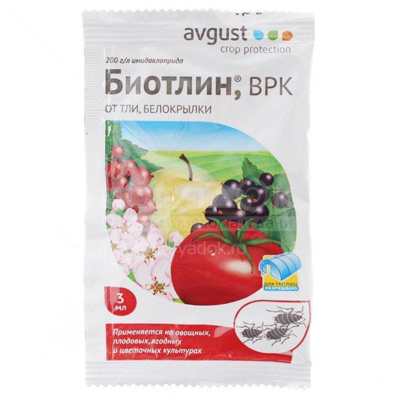 Инсектицид от тли, белокрылки Биотлин 3 мл
