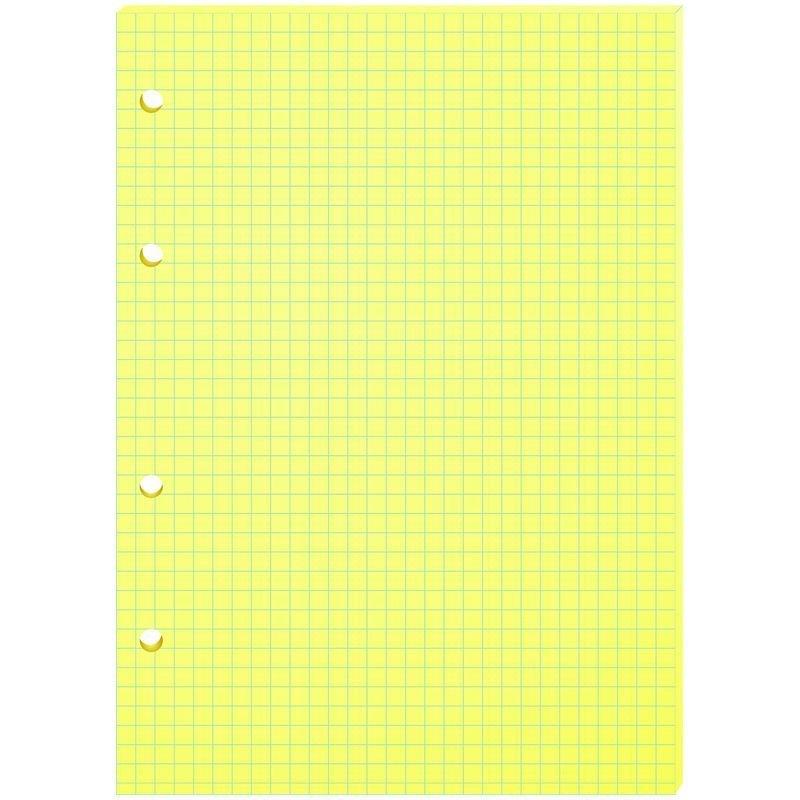 Сменный блок д/тетрадей 80л А5 желтый