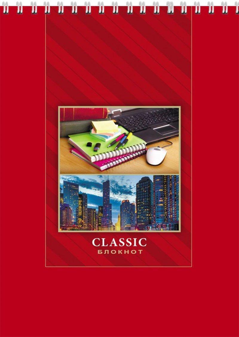 Блокнот A5 32л Profit Деловая классика/Город для творчества гребень