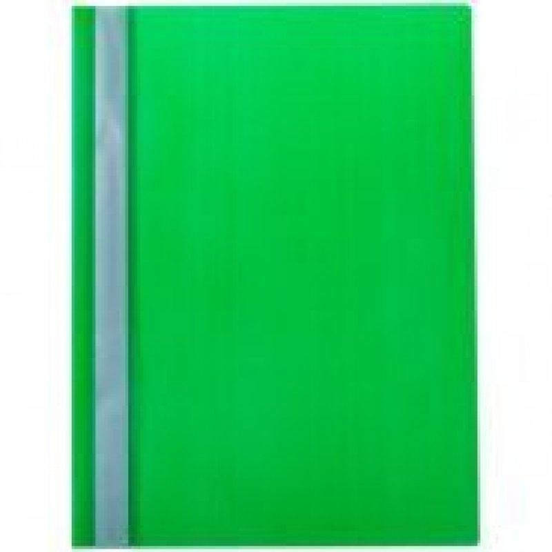 Папка с прозрачным верхним листом OfficeSpace 160мкм зеленая