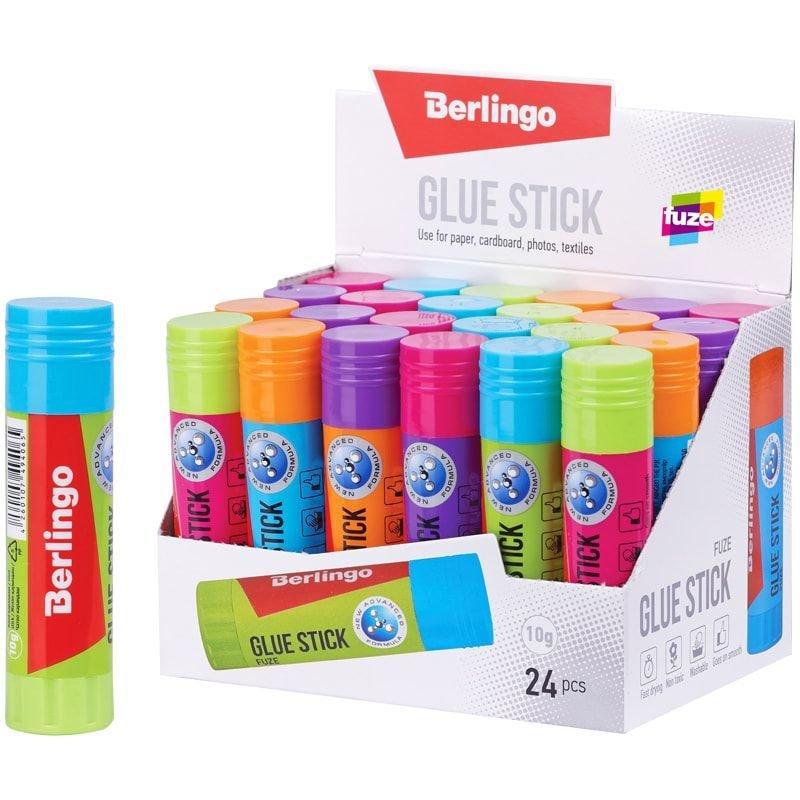 Клей-карандаш 10г Berlingo Fuze