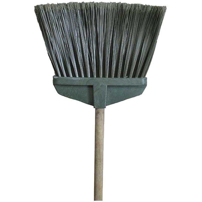 Метла-щетка Гарденс плоская с деревянным черенком 120 см