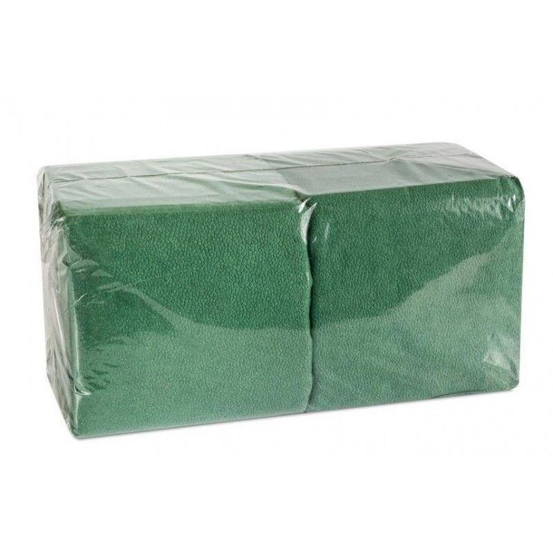 Салфетки Биг Пак Эконом 24х24см 1сл 400л зеленые