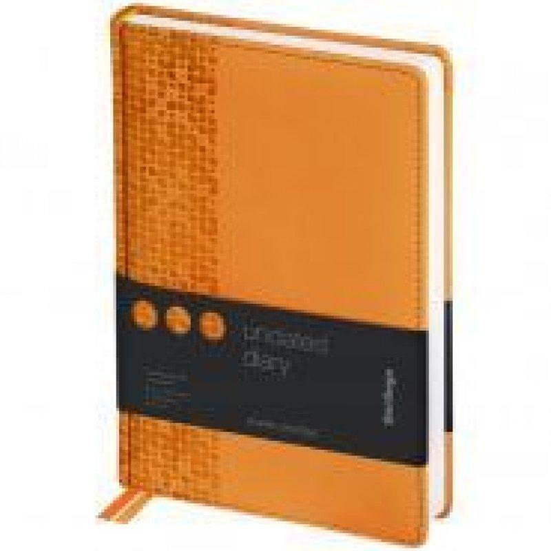 Ежедневник A5 недат Vivella Prestige оранжевый