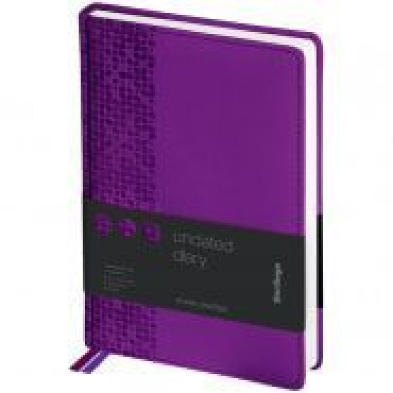 Ежедневник A5 недат Vivella Prestige фиолетовый
