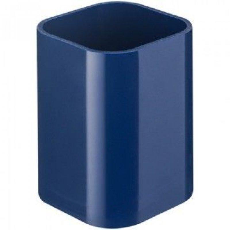 Подставка-стакан Attache квадратная синяя
