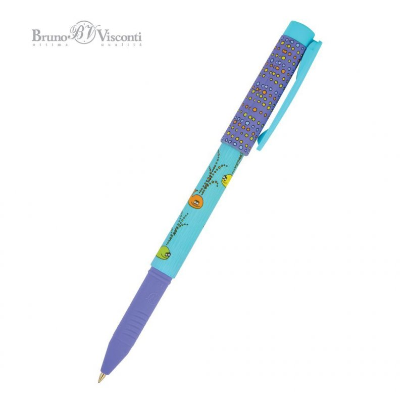 Ручка шариковая Bruno Viskonti FreshWrite Кит 0,7мм синяя