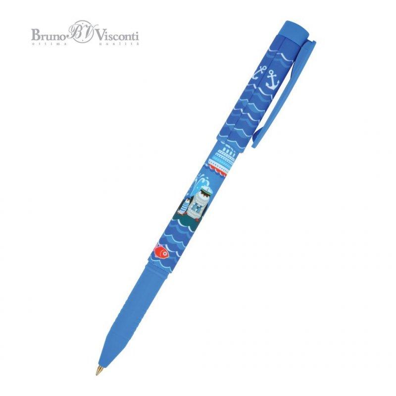 Ручка шариковая Bruno Viskonti FreshWrite Пингвин 0,7мм синяя