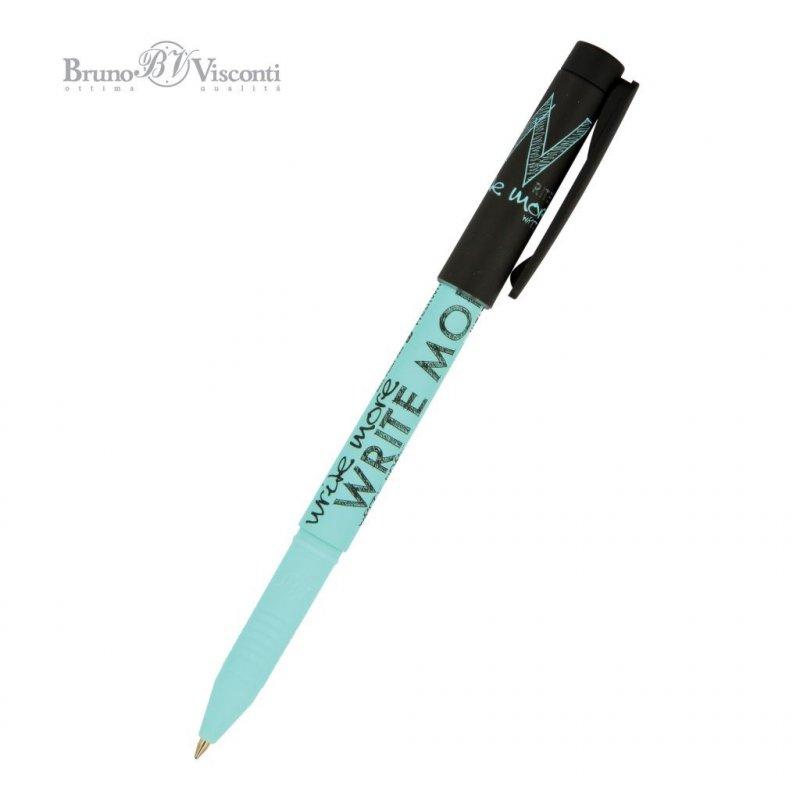 Ручка шариковая Bruno Viskonti FreshWrite Sketches Black and blue 0,7мм синяя