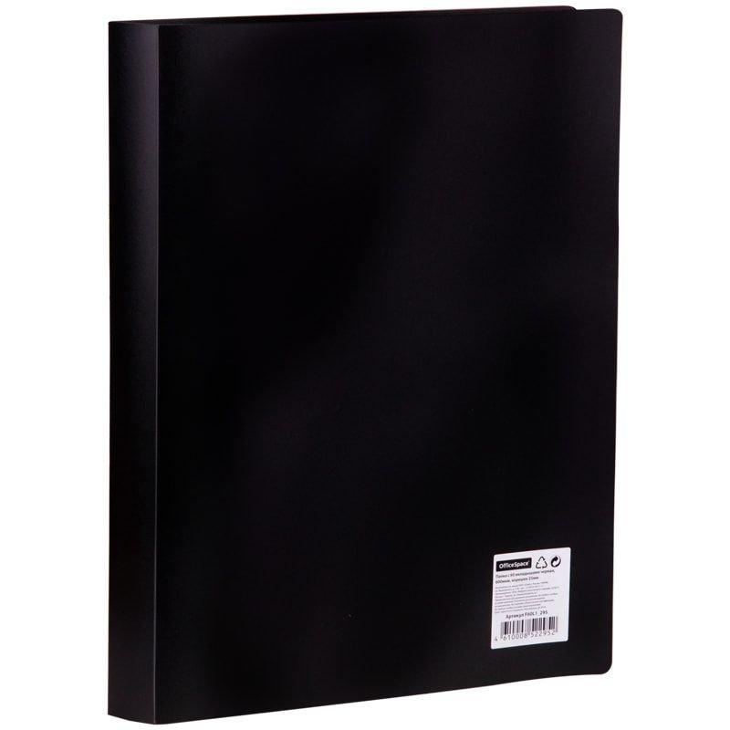 Папка 60 вкладышей OfficeSpace 0,4мм черная