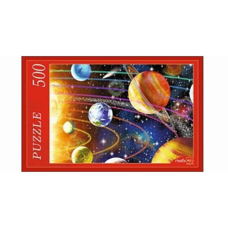Пазлы 500 эл Солнечная система