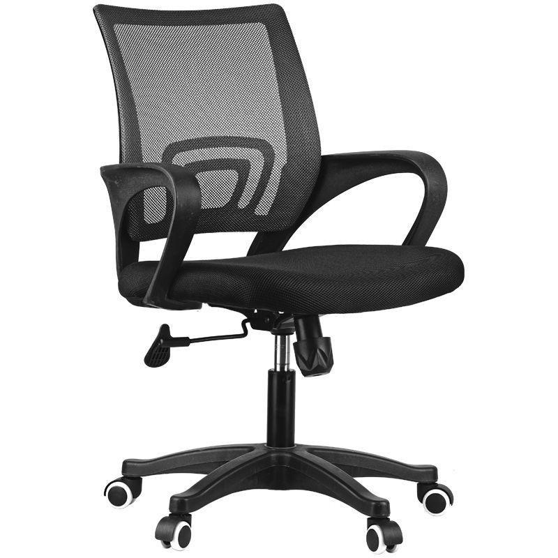 Кресло для оператора OffceSpace SP-M96 с подлокотниками ткань/сетка черное