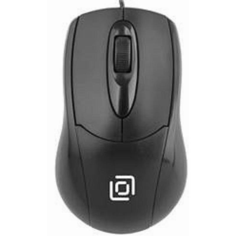 Мышь Oklick 305M USB 2кнопки+1колесо-кнопка оптическая проводная черная