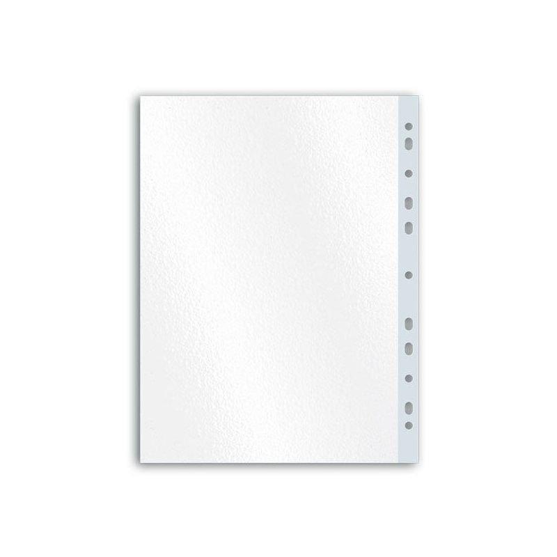 Папка-файл прозрачная с перфорацией А4 Sponsor 100шт/уп 30мкм матовая