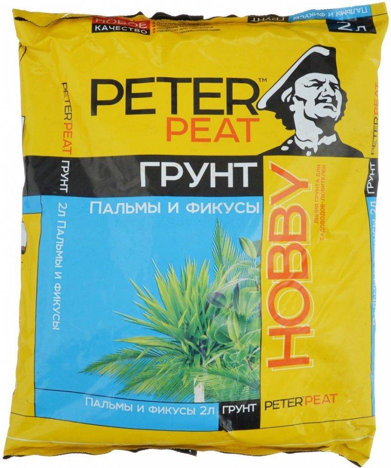 Грунт Пальмы и фикусы Хобби 2,5л