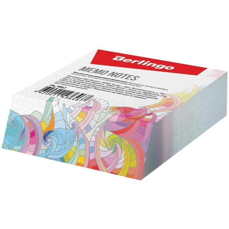 Блок для записей декоративный на склейке Berlingo  Абстракция  9*11*3см