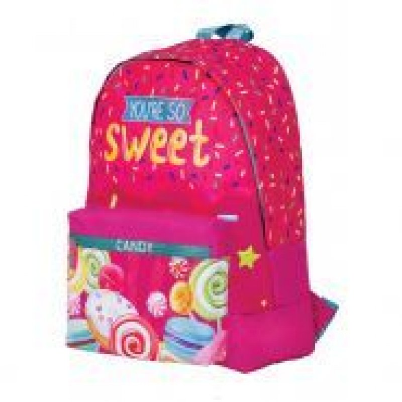 Рюкзак 1 отделение 1 карман Berlingo Nice Sweet Candy