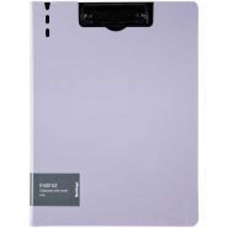 Папка-планшет двойная с верхней крышкой А4 Berlingo Instinct лаванда/черный