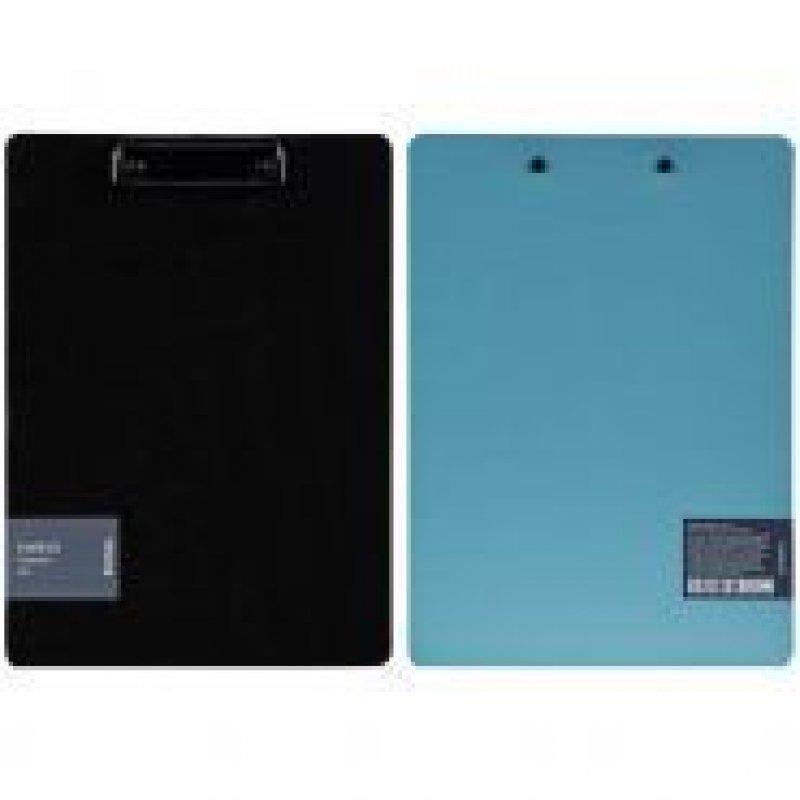 Папка-планшет c зажимом А4 Berlingo Instinct аквамарин/черный