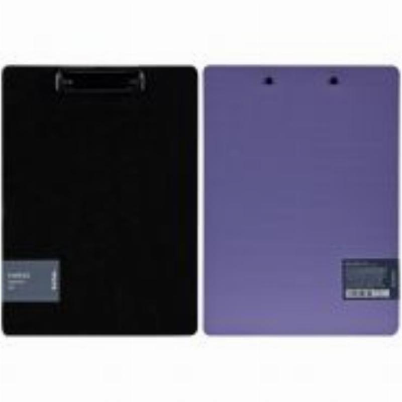Папка-планшет c зажимом А4 Berlingo Instinct лаванда/черный