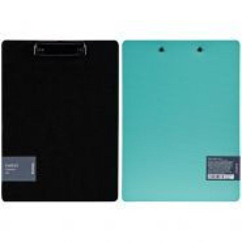 Папка-планшет c зажимом А4 Berlingo Instinct мятный/черный