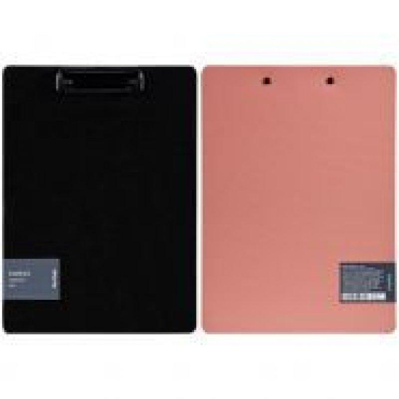 Папка-планшет c зажимом А4 Berlingo Instinct фламинго/черный