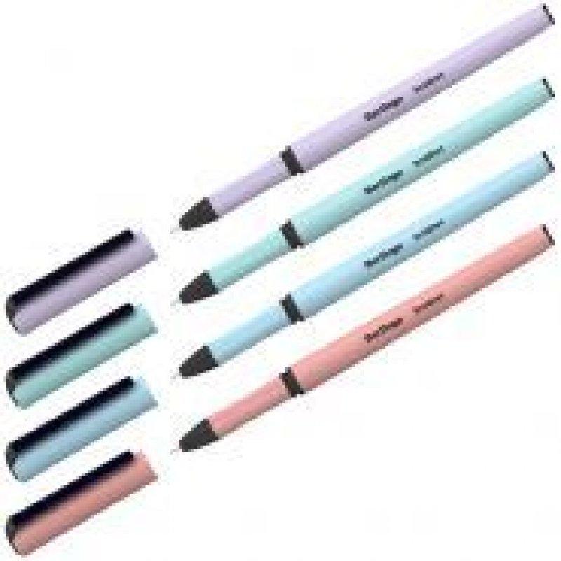 Ручка гелевая Berlingo Instinct 0,5мм корпус ассорти черная