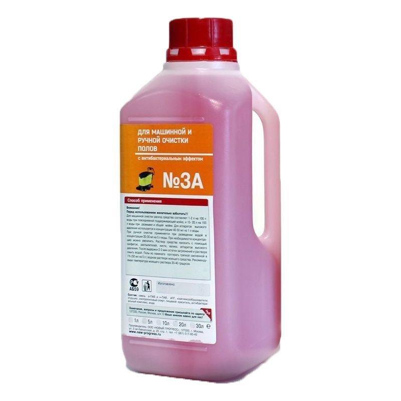 Средство для мытья ЖМС №3 А для машинной и ручной очистки пола 1л