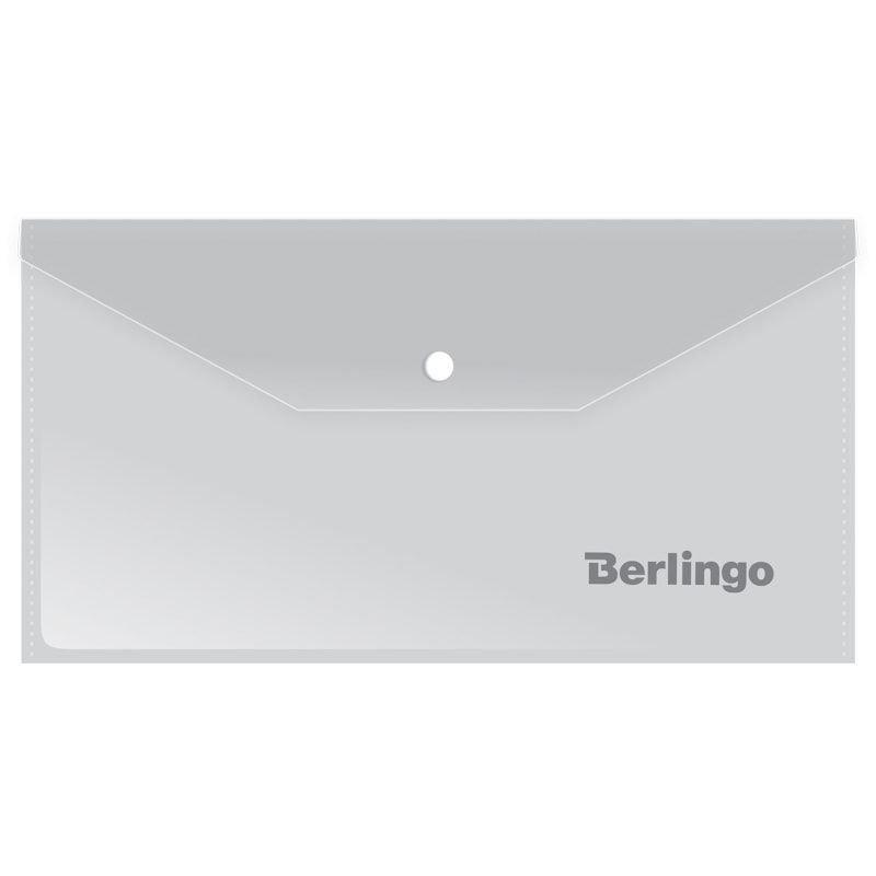 Папка-конверт с кнопкой С6 Berlingo 0,18мм матовый