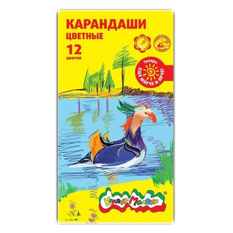Карандаши 12цв Каляка-Маляка шестигранные пенал