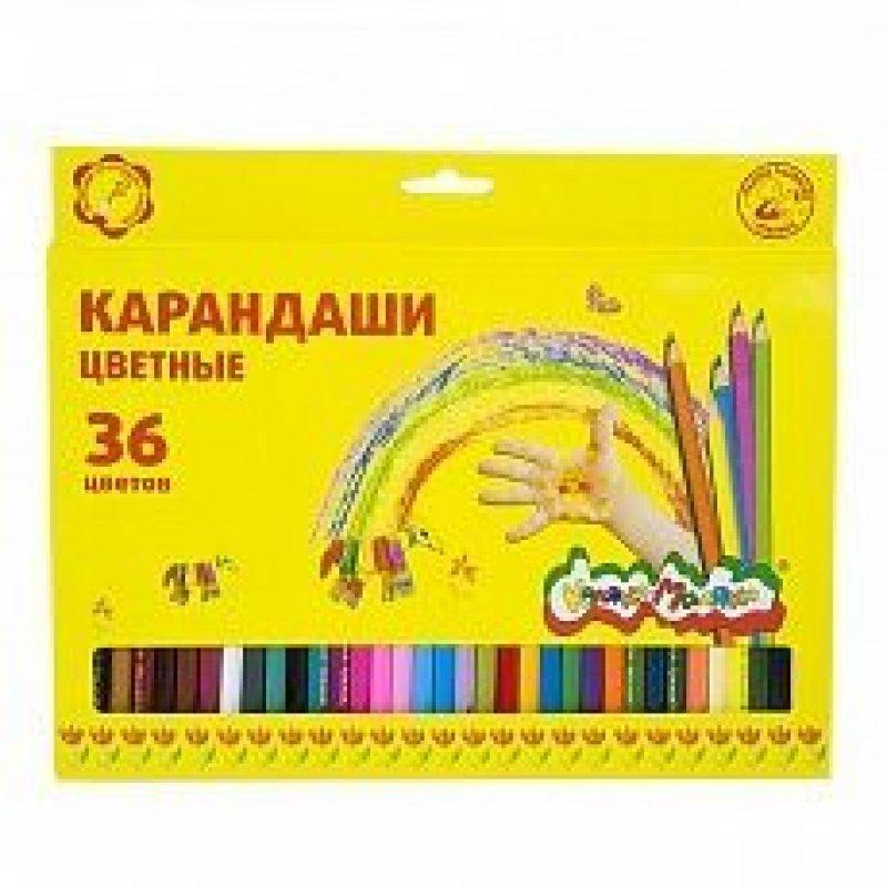 Карандаши 36цв Каляка-Маляка шестигранные