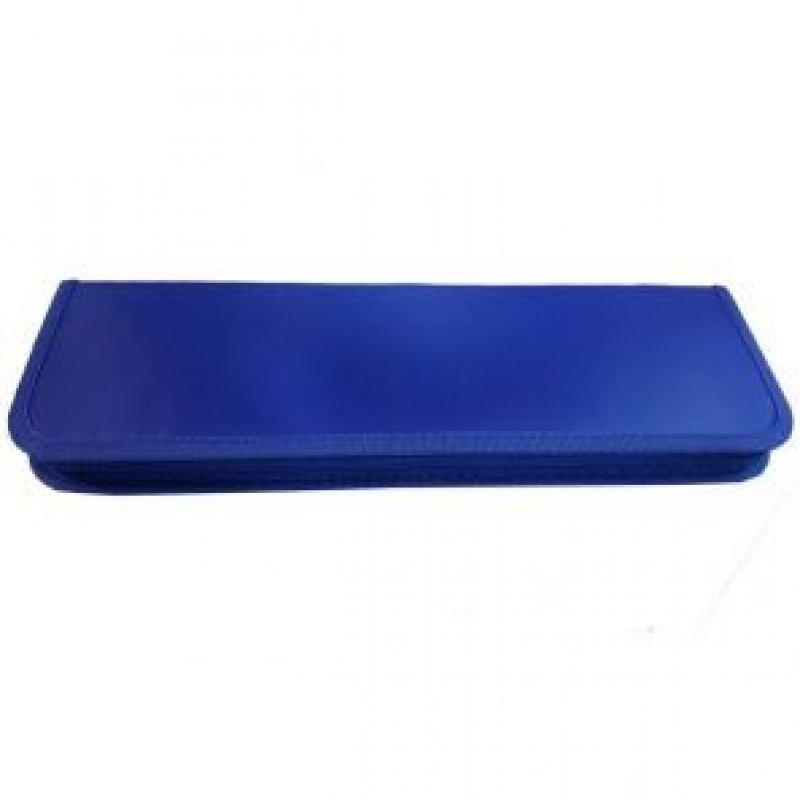 Пенал для кистей 100х380 Ткань Синий