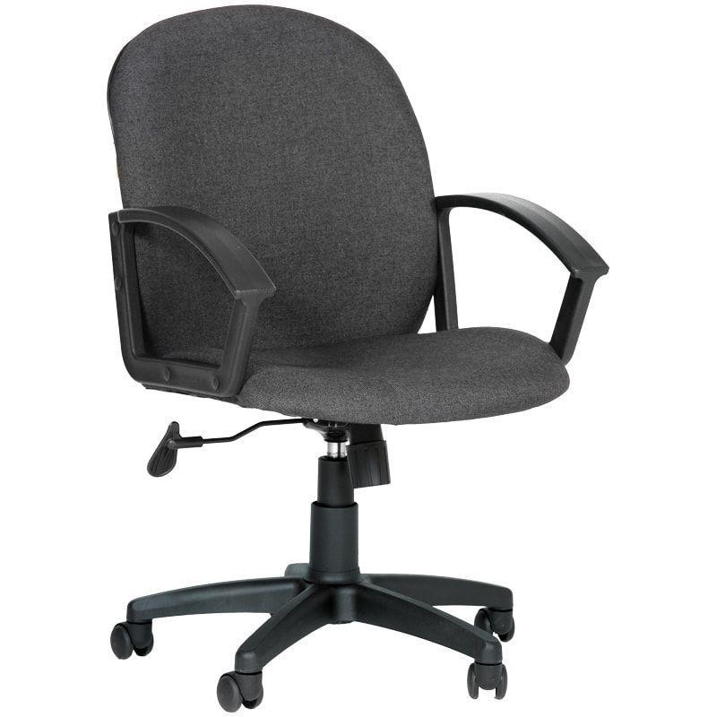 Кресло для оператора Chairman CH-681 с подлокотниками ткань серое