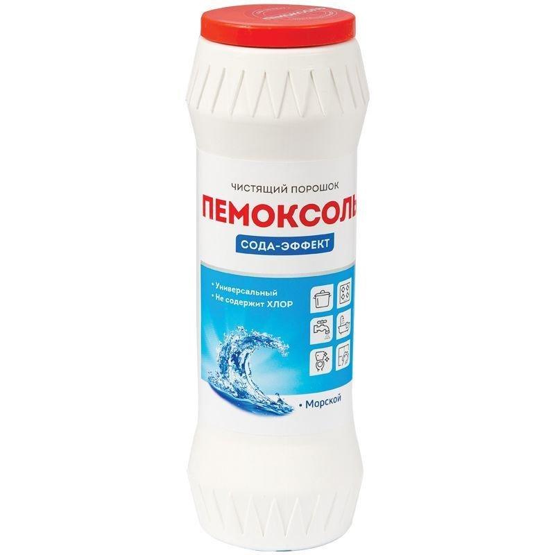 Чистящее средство OfficeClean Пемоксоль Морской 400гр порошок банка