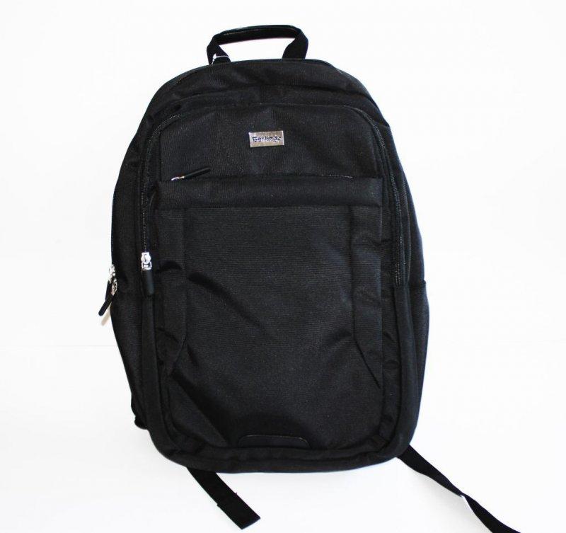 Рюкзак 2 отделения 3 кармана Casual 3 черный