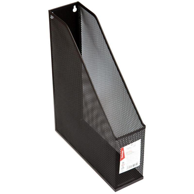 Стойка для бумаг Berlingo Steel&Style металл черный