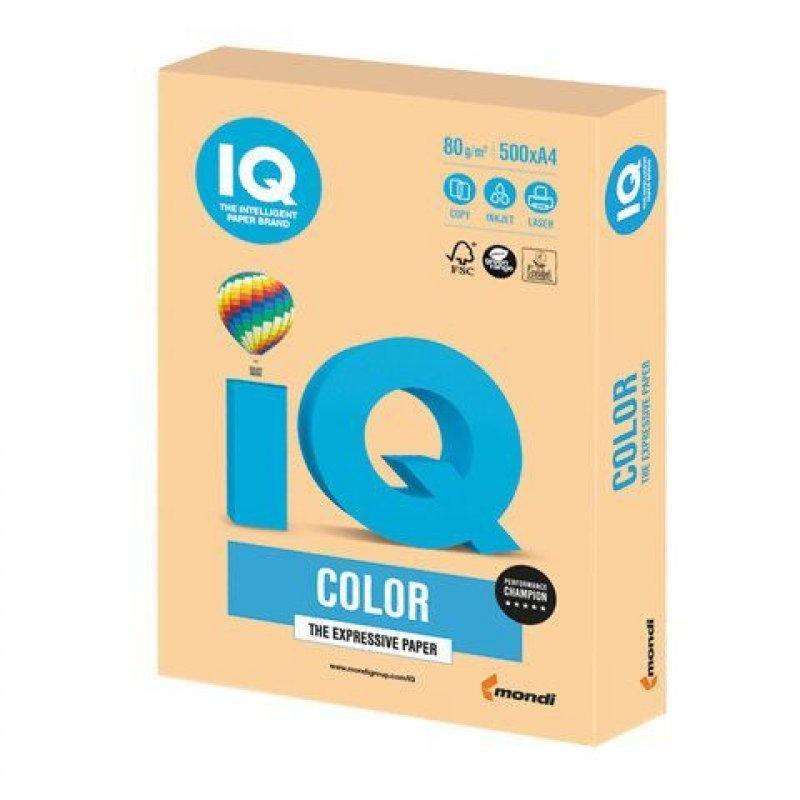 Бумага IQ/Maestro Color А4 80г/м2 500л золотистая