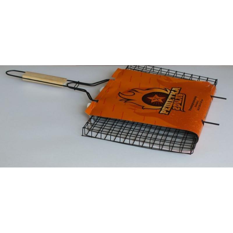 Решетка универсальная большая 435х285х18мм ручка береза