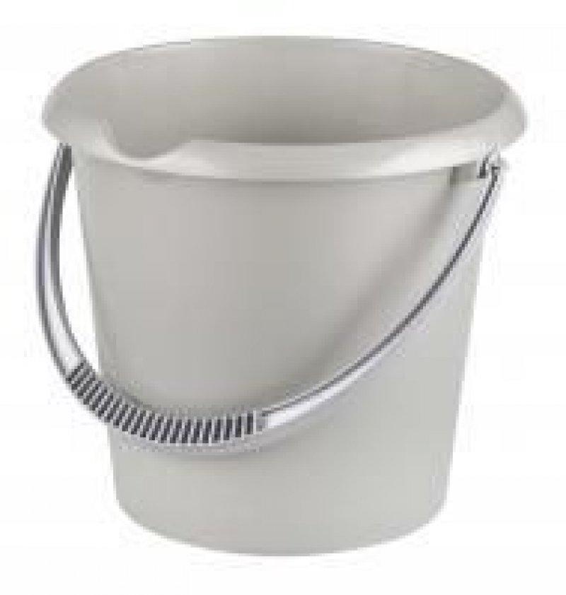 Ведро 10л пластик Эконом со сливом