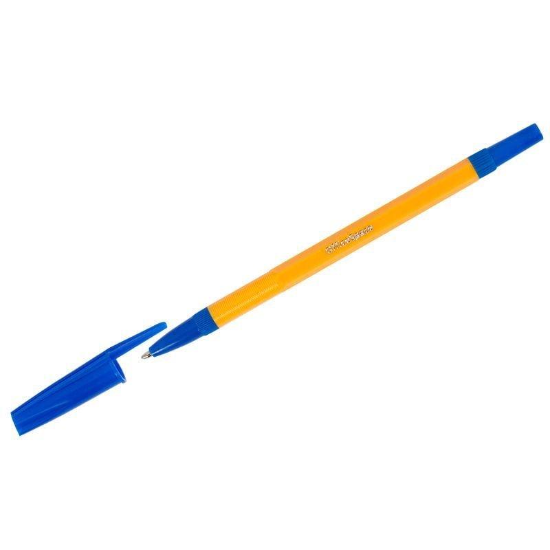 Ручка шариковая OfficeSpace 907 Orange 1мм синяя