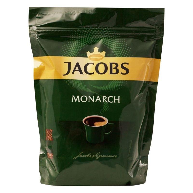 Кофе Jacobs Monarch растворимый 220г мягкая упаковка