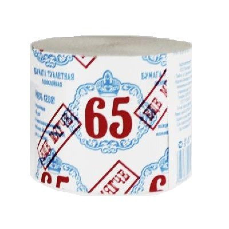 Бумага туалетная Виктория Эконом без втулки 45