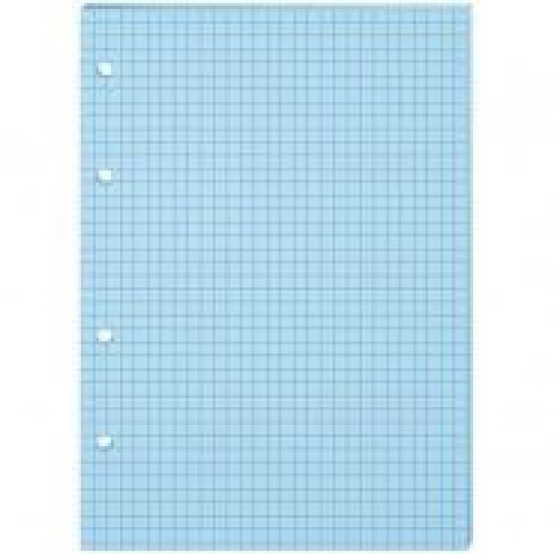 Сменный блок д/тетрадей 80л А5 голубой