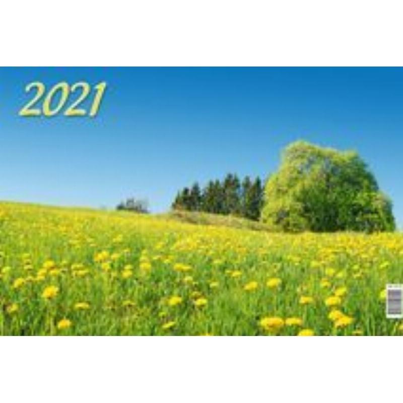 Календарь настенный 2021г 3-х блочный квартальный Родной край