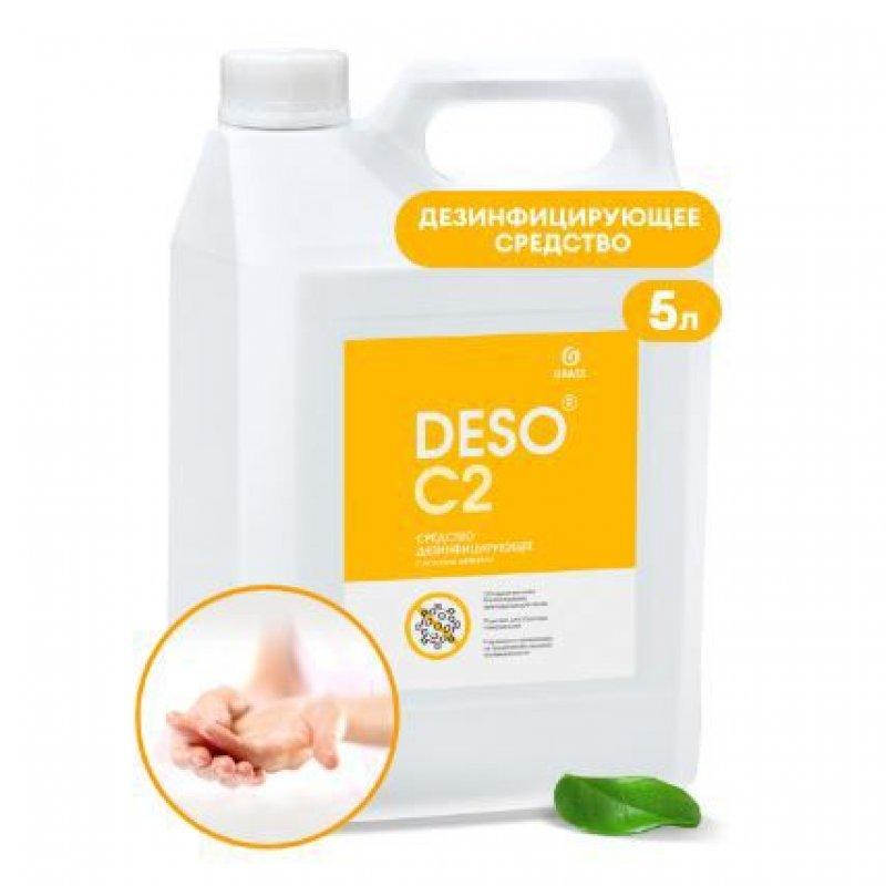 Дезинфицирующее средство с моющим эффектом Deso C2 5 л