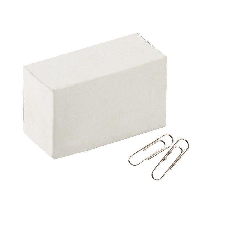 Скрепки 28мм Attache Economy 100шт/уп никелированные карт коробка