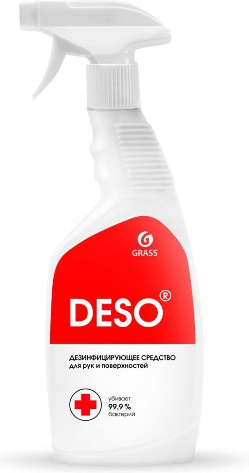 Дезинфицирующее средство 600мл DESO триггер