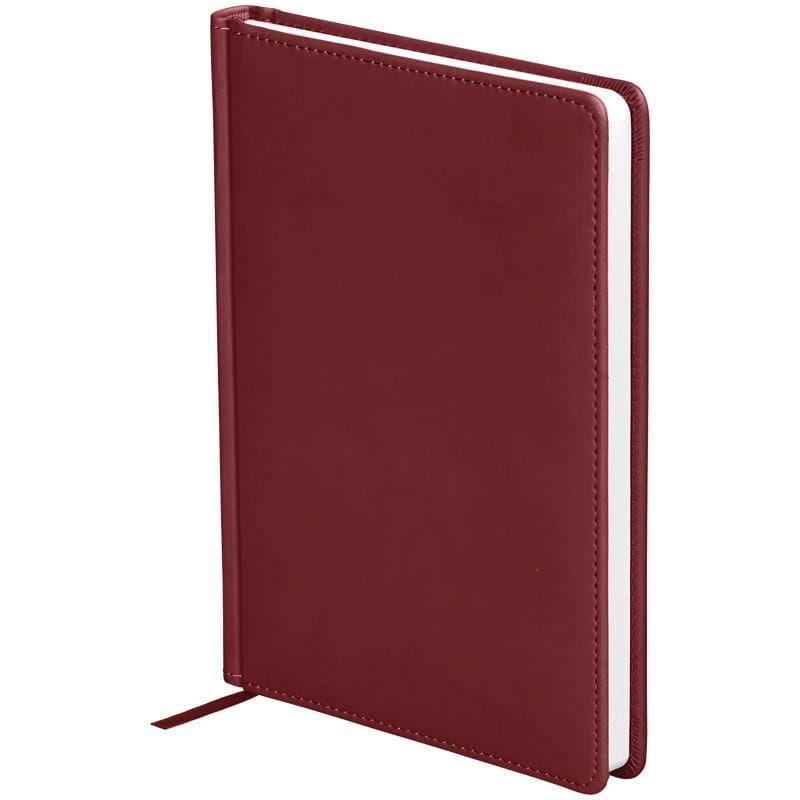 Ежедневник датированный A5 2021г OfficeSpace Winner 176л кожзам бордовый