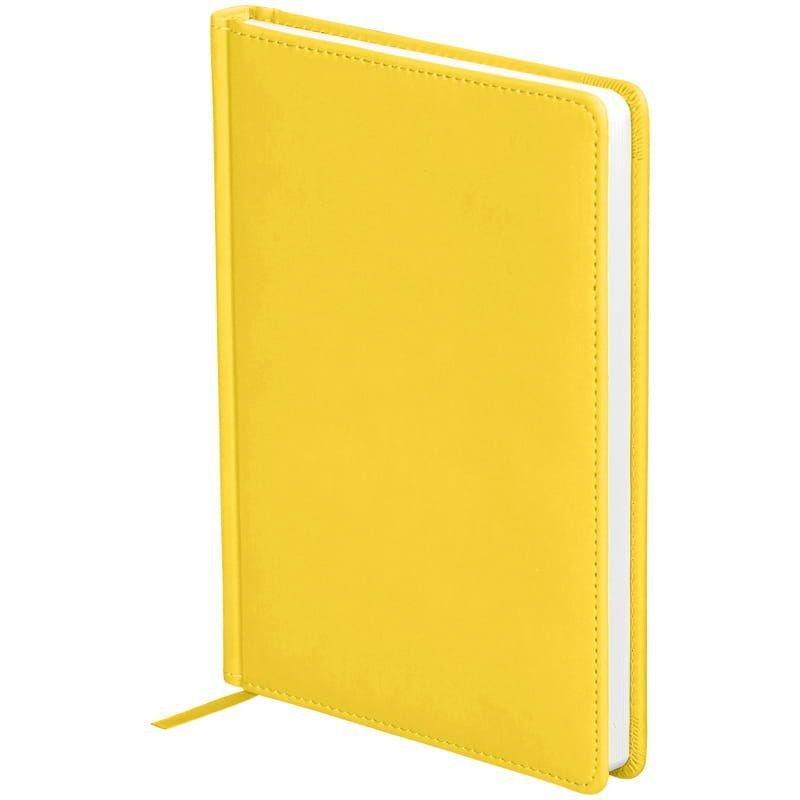 Ежедневник датированный A5 2021г OfficeSpace Winner 176л кожзам желтый
