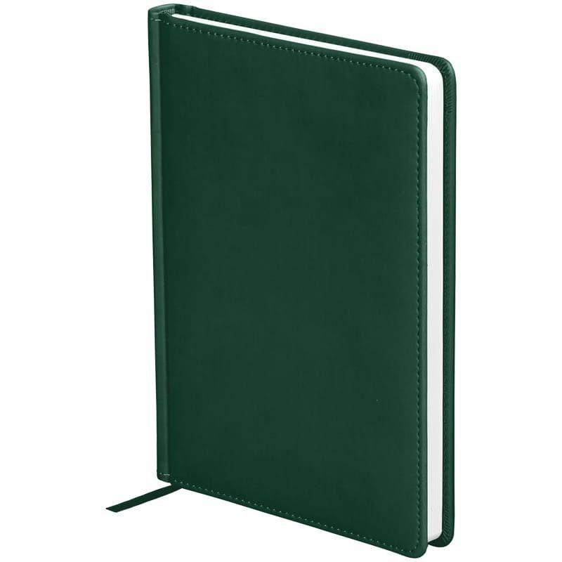Ежедневник датированный A5 2021г OfficeSpace Winner 176л кожзам зеленый